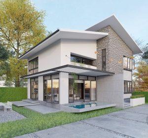 Thiết kế nội thất biệt thự nhà vườn tại Chương Mỹ Hà Nội